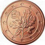 1 евроцент, Германия