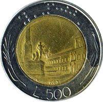 500 лир, Италия
