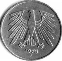 5 марок, ФРГ