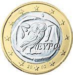 1 евро, Греция