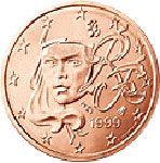 2 евроцента, Франция