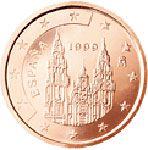 2 евроцента, Испания