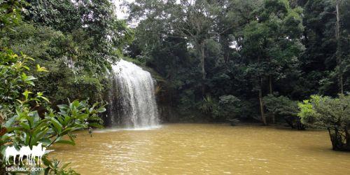 Южноазиатский водопад