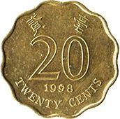 20 центов, Гонконг