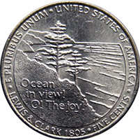 5 центов (Ocean in view! O! The joy!), США