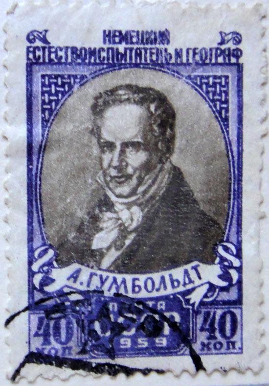 А. Румбольдт. Немецкий естествоиспытатель и географ