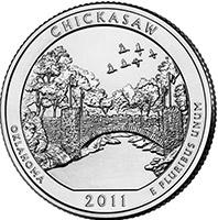 25 центов (Chikasaw), США