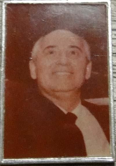 Значок с Михаилом Горбачёвым