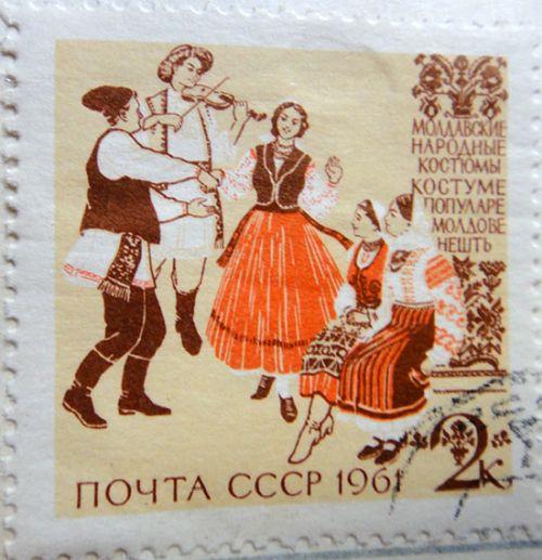Молдавские народные костюмы