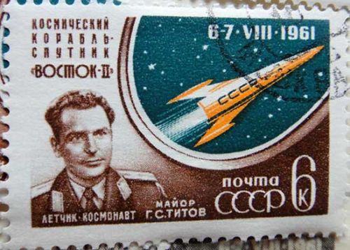 Космический корабль-спутник «Восток-II». Лётчик-космонавт майор Г.С.Титов