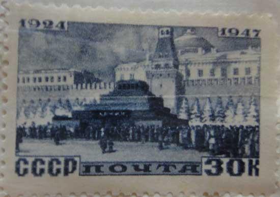Мавзолей Ленина 1924-1947