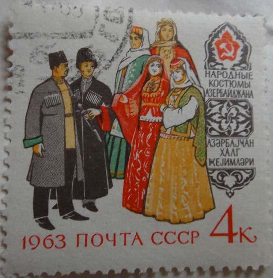 Народные костюмы Азербайджана