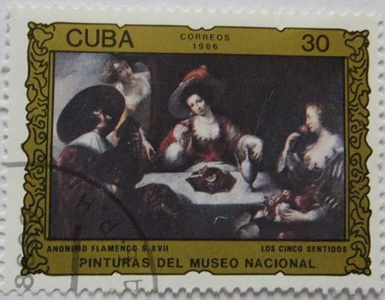 Cuba «Pinturas Del Museo Nacional» Anonimo Flamenco XVII